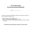 AP Literature and Composition, Weeks-Long Essay Writing Tr