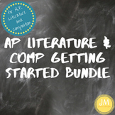 AP Literature and Composition Getting Started Bundle