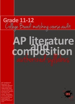 AP™ Literature and Composition authorized syllabus (color-coded)