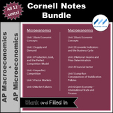 AP Macro AP Micro - Cornell Notes Bundle - All Twelve Unit