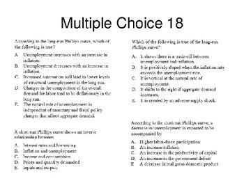 AP Macro Course Review 3 Practice Problems