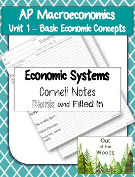 AP Macro - Economic Systems Cornell Notes