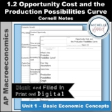 AP Macro - Opportunity Cost and the Production Possibiliti