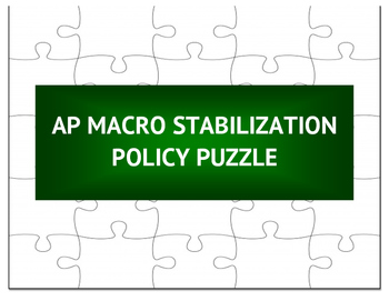 AP Macro Stabilization Policy Puzzle
