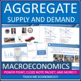 AP Macroeconomics - Aggregate Supply and Demand LRAS AD SR