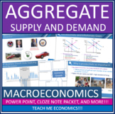 AP Macroeconomics Aggregate Supply and Demand Power Point High School