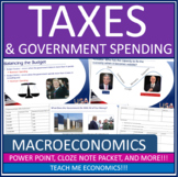 AP Macroeconomics - Taxes & Government Spending Fiscal Policy Power Point Notes