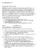 AP Macroeconomics Unit One Student Guide