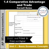 AP Micro - Comparative Advantage and Trade Cornell Notes