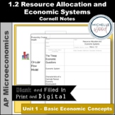AP Micro - Resource Allocation and Economic Systems Cornell Notes