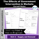 AP Micro - The Effects of Government Intervention in Marke
