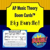 AP Music Theory - Boom Cards Big Bundle (with aural stimuli)