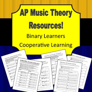 AP Music Theory - Cooperative Learning Activities