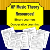 AP Music Theory - Cooperative Learning - Binary Learners Edition