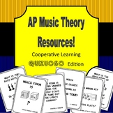 AP Music Theory - Cooperative Learning - Quizuoso Edition