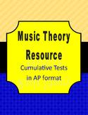 AP Music Theory Cumulative Tests Pack