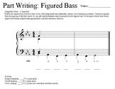 AP Music Theory - Figured Bass (Minor) 6-Pack!