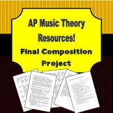 AP Music Theory - Final Composition Project