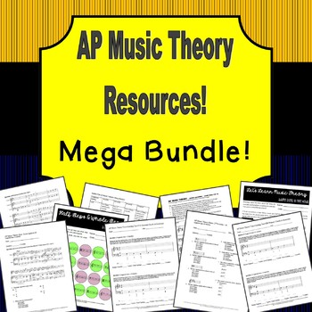 AP Music Theory MEGA Bundle!