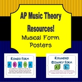 AP Music Theory Posters: Musical Forms