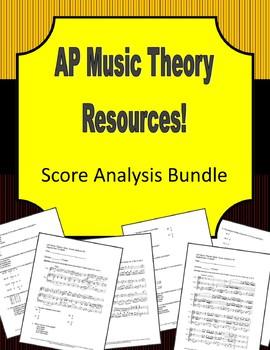 AP Music Theory - Score Analysis