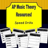 AP Music Theory Speed Drills