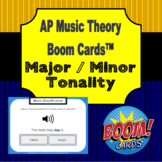 AP Music Theory - Tonality Boom Cards (from aural stimuli)