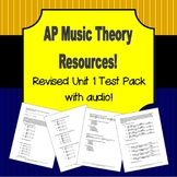 AP Music Theory Unit 1 Test Pack