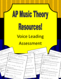 AP Music Theory - Voice Leading Test Pack