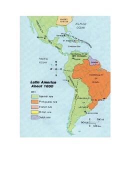 AP Nationalism: Latin American Wars of Independence DBQ