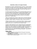 AP Nationalism: Simón Bolívar: Address to the Congress of Venezuela