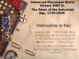 AP Nationalism: The Unification of Italy and Germany