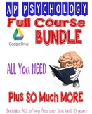 AP PSYCHOLOGY FULL COURSE BUNDLE Everything You Need Plus MORE