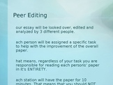 AP Peer Editing
