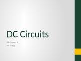 AP Physics 1 - DC Circuits - Class Notes
