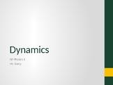 AP Physics 1 - Dynamics (Forces & Newton's Laws) - Class Notes