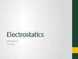AP Physics 1 - Electrostatics - Class Notes