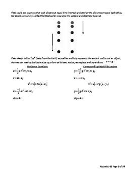 AP Physics 1 - Free Fall Motion teacher version