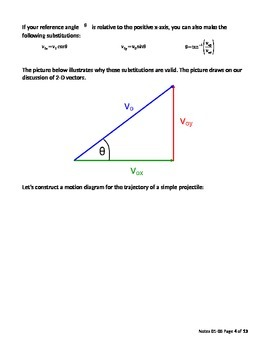 AP Physics 1 - Projectile Motion Teacher Version (Set 0105)