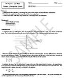 AP Physics Labs  - Semester 2