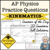 AP Physics Test - Kinematics Practice Questions