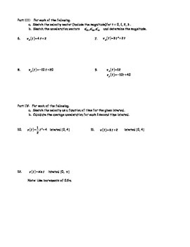 AP Physics Vectors and Motion