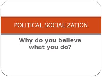 what political socialization