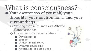 AP Psych PPT - States of Consciousness (Sleep, Dreaming, Drugs...)