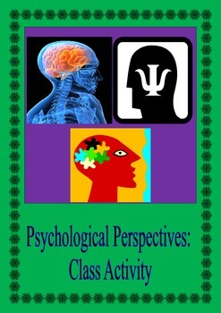 Psychological Perspectives: Class Activity