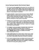 AP Psychology - 5 Ethical Dilemmas