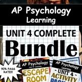AP Psychology - Unit 4 - Learning - Full Unit - Google Drive Access! - AP Psych