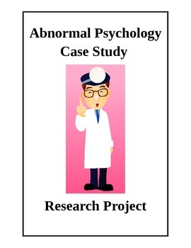 Abnormal Psychology Disorder Group Research Project