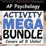 AP Psychology Activity MEGA BUNDLE - All 9 Units - Google