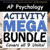 AP Psychology Activity MEGA BUNDLE - All 9 Units - Google